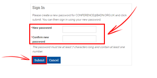 BADN Guide | How to regain access to your membership account